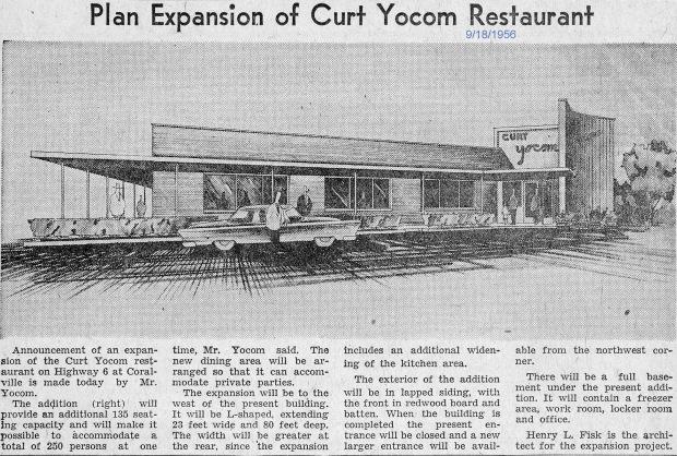 Curt Yocum Restaurant
